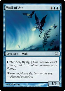 Wall of Air - Tenth Edition