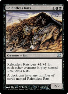 Relentless Rats - Tenth Edition