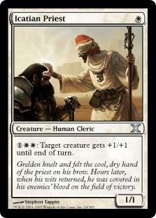 Icatian Priest - Tenth Edition