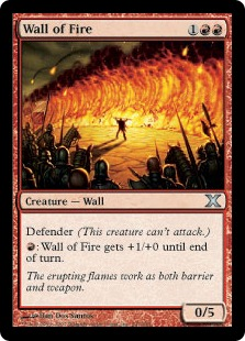 Wall of Fire - Tenth Edition