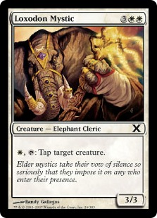 Loxodon Mystic - Tenth Edition