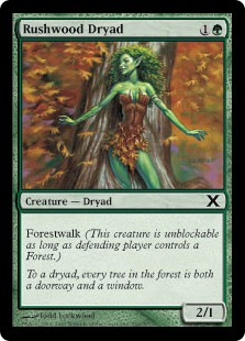 Rushwood Dryad - Tenth Edition
