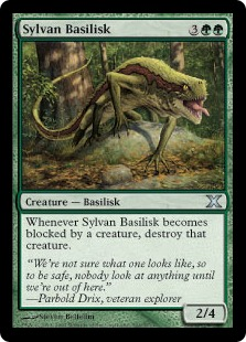 Sylvan Basilisk - Tenth Edition