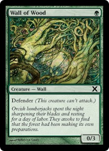 Wall of Wood - Tenth Edition