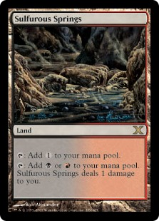 Sulfurous Springs - Tenth Edition