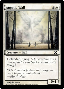 Angelic Wall - Tenth Edition