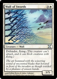 Wall of Swords - Tenth Edition