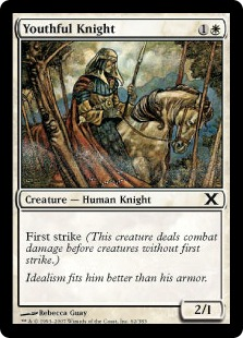 Youthful Knight - Tenth Edition