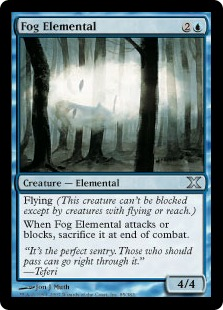 Fog Elemental - Tenth Edition