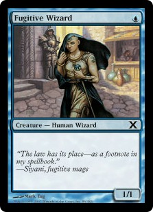 Fugitive Wizard - Tenth Edition