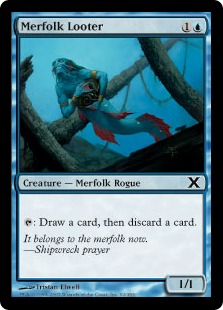 Merfolk Looter - Tenth Edition