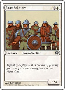 Foot Soldiers - Ninth Edition