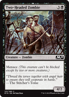 Two-Headed Zombie - Core Set 2019