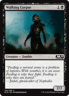 Walking Corpse - Core Set 2019