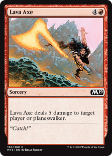 Lava Axe - Core Set 2019