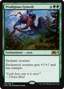Prodigious Growth - Core Set 2019