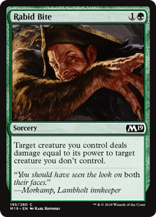 Rabid Bite - Core Set 2019