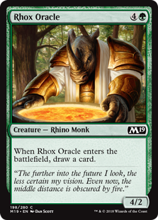 Rhox Oracle - Core Set 2019