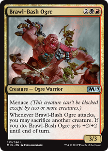 Brawl-Bash Ogre - Core Set 2019