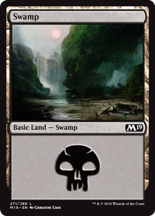 Swamp - Core Set 2019