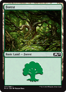 Forest - Core Set 2019