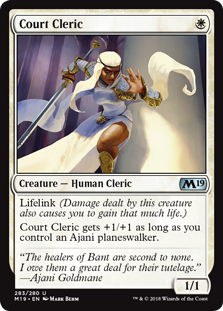 Court Cleric - Core Set 2019