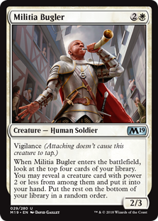 Militia Bugler - Core Set 2019