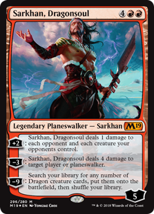 Sarkhan, Dragonsoul - Core Set 2019