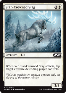 Star-Crowned Stag - Core Set 2019