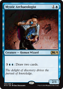 Mystic Archaeologist - Core Set 2019