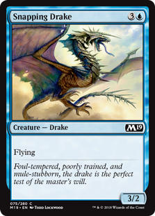 Snapping Drake - Core Set 2019