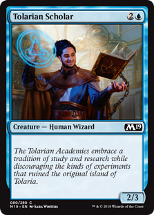 Tolarian Scholar - Core Set 2019