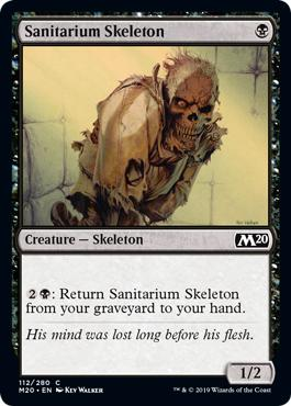 Sanitarium Skeleton - Core Set 2020