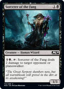 Sorcerer of the Fang - Core Set 2020