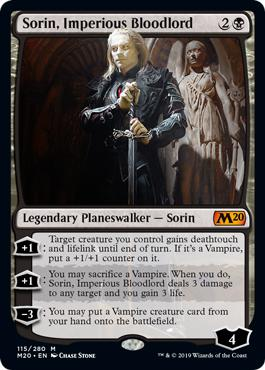 Sorin, Imperious Bloodlord - Core Set 2020