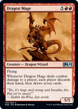 Dragon Mage - Core Set 2020