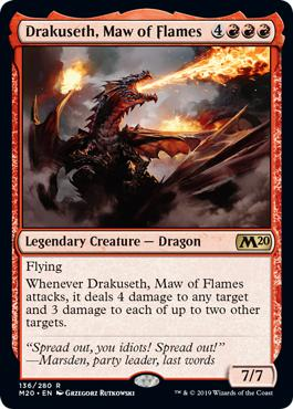 Drakuseth, Maw of Flames - Core Set 2020