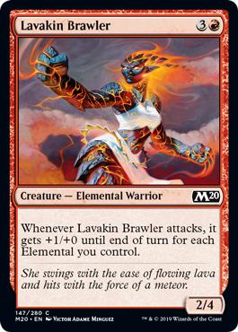 Lavakin Brawler - Core Set 2020