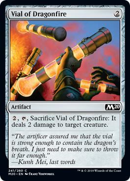 Vial of Dragonfire - Core Set 2020