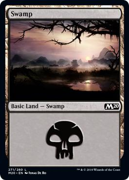 Swamp - Core Set 2020