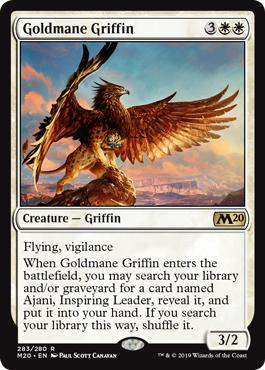 Goldmane Griffin - Core Set 2020