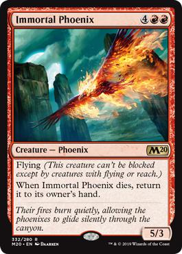 Immortal Phoenix - Core Set 2020
