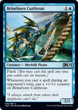 Brineborn Cutthroat - Core Set 2020