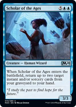 Scholar of the Ages - Core Set 2020