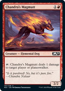 Chandra's Magmutt - Core Set 2021
