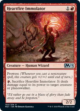 Heartfire Immolator - Core Set 2021