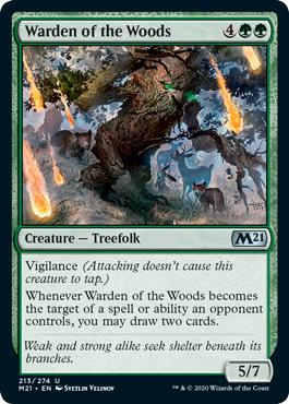 Warden of the Woods - Core Set 2021