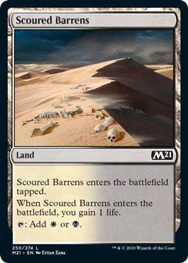 Scoured Barrens - Core Set 2021
