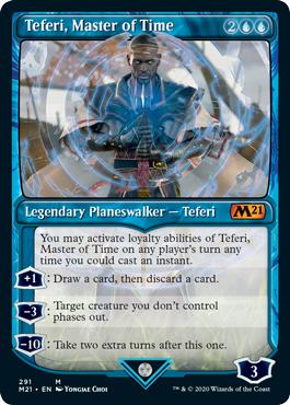 Teferi, Master of Time - Core Set 2021