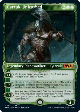 Garruk, Unleashed - Core Set 2021